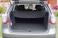 Empty trunk of the car Stock Photography