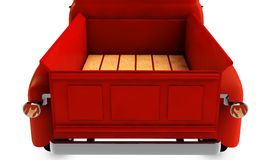 Empty trunk of a car 3d render Stock Photography