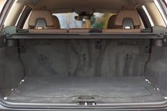 Empty trunk space Stock Photo