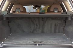 Empty trunk space Stock Photos
