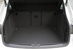 Car trunk. Empty trunk of the suv Royalty Free Stock Photography