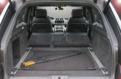 Empty trunk of the suv Stock Photo