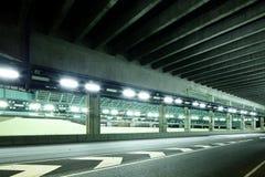Empty tunnel Stock Photos