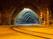 Empty tunnel Stock Photography