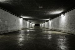 Empty tunnel Royalty Free Stock Images