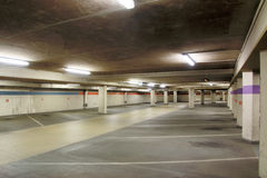 Empty Underground parking, car park Royalty Free Stock Photography