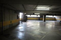 Empty underground parking. Lot city Stock Photos