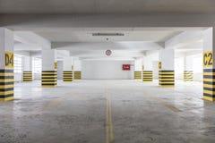 Empty underground parking garage. Turkey Stock Images