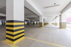 Empty underground parking garage. Turkey Royalty Free Stock Photography