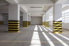 Empty underground parking garage. Turkey Stock Image