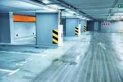 Empty underground parking Stock Photography