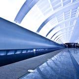 Empty underground platform Royalty Free Stock Photos