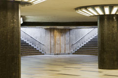 Empty underpass with steps Stock Photography