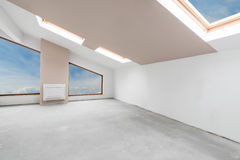 Empty unfinished interior (clipping path). Empty unfinished interior (includes clipping path stock photos