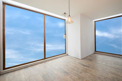 Empty unfinished interior (clipping path). Empty unfinished interior (includes clipping path royalty free stock photos