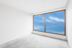 Empty unfinished interior (clipping path). Empty unfinished interior (includes clipping path stock photo