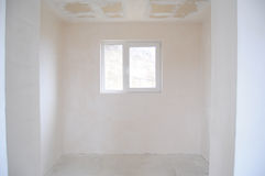 Empty unfinished room Stock Photos