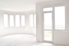Empty unfinished room Royalty Free Stock Images