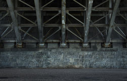 Empty urban background Royalty Free Stock Photography