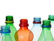 Empty used  bottle Royalty Free Stock Image