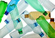 Empty used  bottle Royalty Free Stock Photography