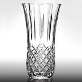 Empty vase. For flowers on gray background Royalty Free Stock Photography