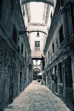 Empty Venice Alley Stock Photography