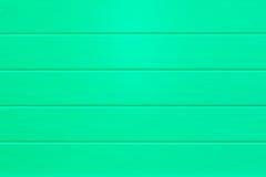 Empty vibrant Green wooden planks background Stock Photos