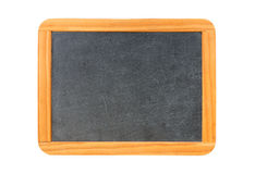 Empty vintage blackboard with wooden frame Royalty Free Stock Photo