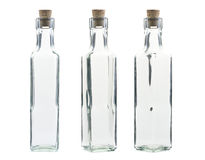 Empty vintage bottle Stock Photography