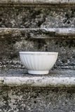Empty Vintage bowl Royalty Free Stock Photography