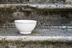 Empty Vintage bowl, Royalty Free Stock Photography