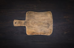 Empty vintage cutting board Stock Photo