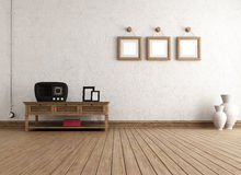 Empty vintage interior Royalty Free Stock Images