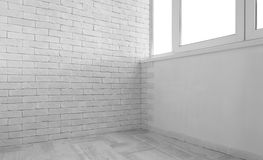Empty vintage room Royalty Free Stock Image