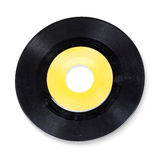 Empty vinyl record. Stock Images