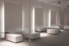 Empty vip lounge at Mido 2014 in Milan, Italy Stock Photography
