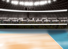 Free Empty Volleyball Court - Sport Theme Stock Photos - 64707373