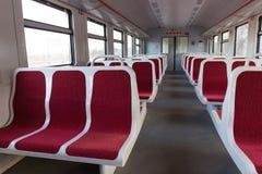 An empty wagon trains Stock Photo