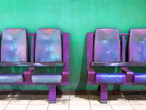 Empty waiting area chairs Royalty Free Stock Photos