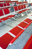 Empty waiting room. An empty waiting room at an airport Stock Photos