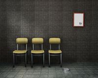 Empty waiting room Stock Images