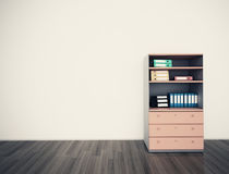 Empty wall office Royalty Free Stock Photos