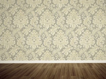 Empty wall in the room Royalty Free Stock Photography