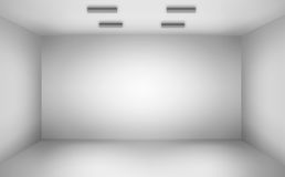 Empty wall. In a room Stock Image