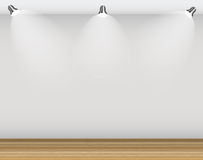 Empty Wall for Your Text and Images, Vector Illustration Royalty Free Stock Image
