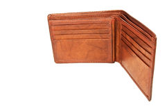 Empty wallet Royalty Free Stock Image