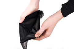 Empty wallet royalty free stock images