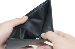 Empty wallet Stock Photography