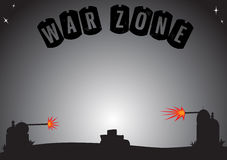 Empty War Zone Royalty Free Stock Photos
